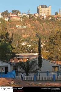 Antananarivo sign at the heart of the city!
