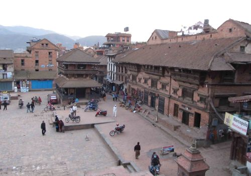View of City Square from Nyatapola Temple