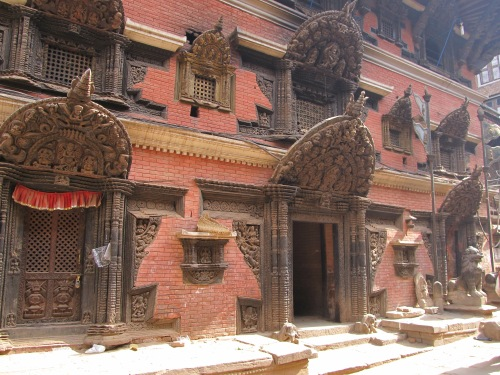 A Temple Entrance at Bhaktapur