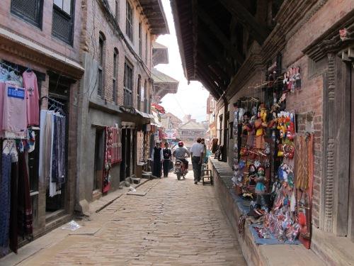 A Street of Bhaktapur