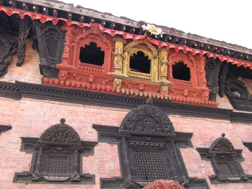Bay Windows Outside Kumari Ghar