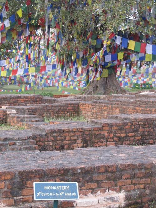 Ruins in Sacred Garden