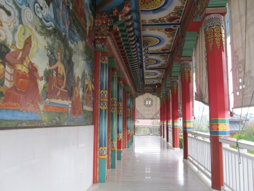 A Corridor in German Monastery