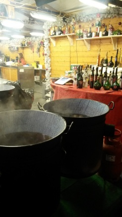 Vats of Mulled wine